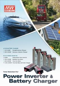MEAN WELL Battery Charger & Inverter catalogue