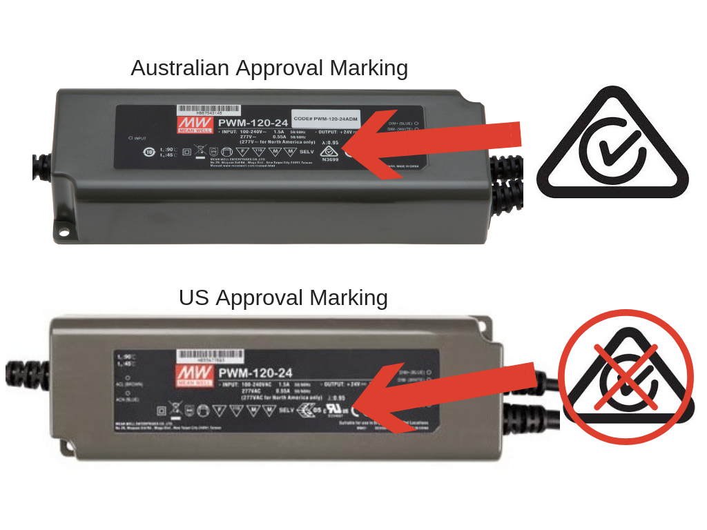 MEAN WELL LED Driver with Australian Approvals