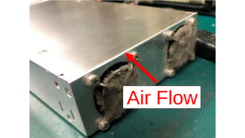 power_supply_cooling_fan_with_bloked_air_inlets