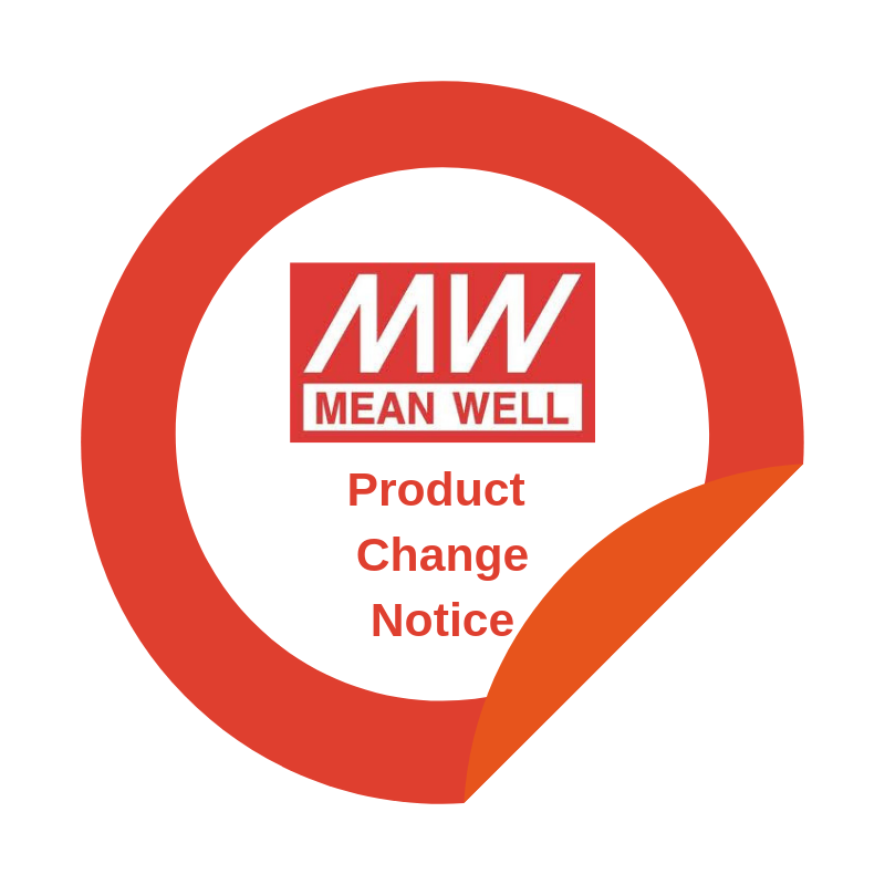 MEAN WELL product change notification