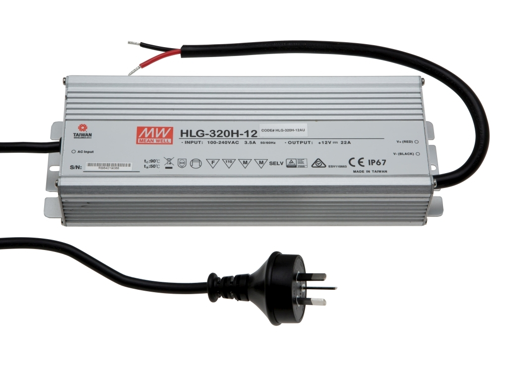 MEAN WELL HLG-320 Series LED Driver