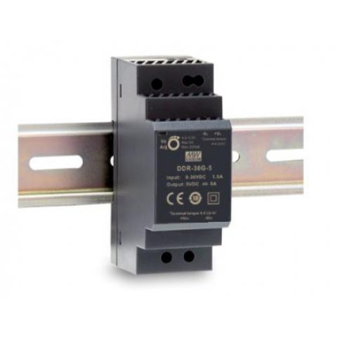 MEAN WELL DDR-30 DIN RAIL DC to DC Converter