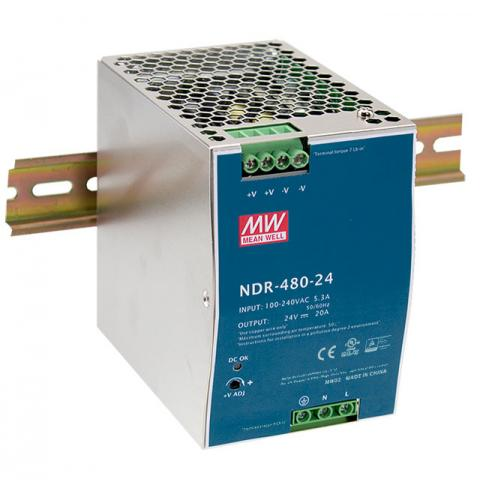 DIN Rail Power Supply Meanwell NDR-480