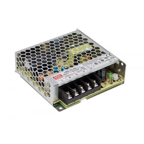 MEAN WELL 75W Enclosed Power Supply
