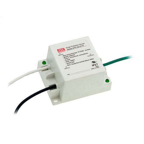 Surge protector for MEAN WELL LED driver